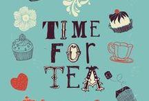 I love TEA / Tea, Sugar, Cookies, Cups