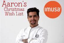 AARON'S CHRISTMAS WISH LIST / by IMUSA USA