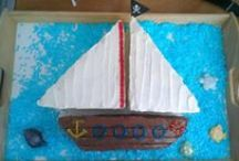 Pirates party / Inspiration for the pirate party for children: DIY, costumes, food, decorations, birthday cake