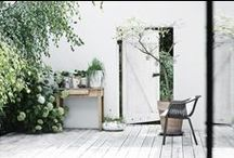 AL FRESCO SCANDI STYLE / Our outdoor space, be it a balcony, a garden or a humble patio, is our connection to the great outdoors, while being an extension of our home at the same time. The #exteriordesign trend has descended upon us and we feel good about it. Here's some pinspiration to help you achieve your al fresco chic look.