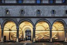 Milano Water Design 2015 / Water Design, Castello Sforzesco, Milano 2-11 October 2015 Piero Lissoni Waterway istallation, design Piero Lissoni. Water and Sastainability.