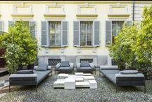 Soft Home, Salone del Mobile 2016 / Soft Home, Interiors and digital experience Installazione multimediale a cura di Elle Decor Italia. Outdoor installation. Photo Cesare Chimenti