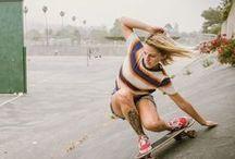 VINTAGE SKATEBOARDS / When wave where flat...Skateboards where born.