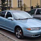 Oldsmobile Alero - light blue pearl (+xirallic)