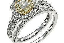 R I N G S / Your engagement ring and wedding band are going to be on your finger forever... make sure you love them ;)