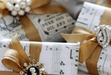 Gifts / Great ideas for gifts for all ages, and pretty and unusual gift wraps.