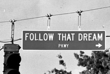 Let dreams lead the way