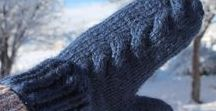Keep Warm / Winter fashion. Hats, gloves, ear warmers, & mittens. Handmade winter accessories and lots of warm fuzzies.
