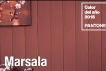 Color del año 2015: Marsala / Descubre multitud de #ideasconvida con el color marsala como protagonista.