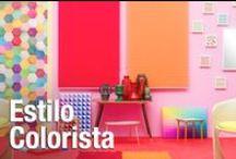 Estilo Colorista / Vitalidad, frescura y colorido es lo que define esta tendencia que se inspira en los cánones más desenfadados y divertidos de la estética Pop. #leroymerlin #tendencia #colorista #tempo