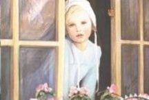 Paintings of children / Not all are paintings. Some are subjects I would like to paint someday.