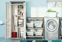 Garage e lavanderia