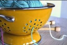 Yarn Hacks / Clever ideas, tips, and tricks to make knitting and crocheting a little less knotty.