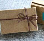 Wrap it up / Boxes, bows, brown paper packages tied up with strings.... all the pretty ways to wrap a gift for giving.