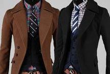 férfi / férfi öltözék divat