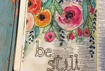 Bible Journaling Art / Ideas so I can start doing this!