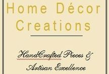 Home Decor Creations / Rustic, Stylish, Handmade Wood Home Decor featuring Wall Wine Racks, Shelves, Mug Racks, Wine Glass Racks, Towel Racks & rustic decor accessories.  http://www.homedecorcreations.com