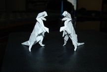 My Origami Models / Some of my own origami models