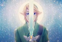 "Legend Of Zelda (The) / ""Time passes, people move. Like a rivers flow; it never ends. A childish mind will turn to noble ambition - young love will become deep affection"" - Sheik. / by Rhian"