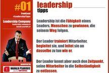 LEADERSHIP TIPPS / Wöchentliche Tipps für alle Leader