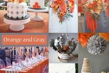"""What's Your Wedding Palette? / What color combinations will you choose to make your wedding totally """"you""""?"""