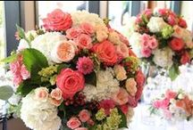 Flowers / Let your flowers tell your story and be the inspiration for your wedding theme and color palettes. Flowers make you smile :)