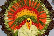 Decorate  with fruits or veggies