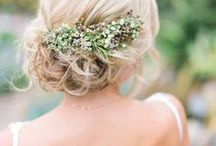 Wedding Hair! / How will you wear your hair on your special day? There are so many choices to choose from, so here is some inspiration for the big day.