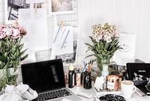 Home Offices / Ideas and inspiration to create the perfect, on trend home office.