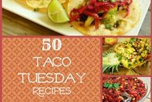 Taco Tuesday | Fiesta Party / It doesn't have to be Cinco de Mayo to have a taco party! Here are some budget friendly ideas for a rockin' Taco Tuesday.