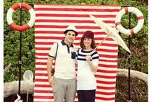 Casting off! A Nautical Twist. / Anchor down and throw a nautical themed party