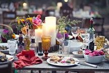 Alfresco Dining / Whether your having a dinner party in the garden with friends, or a romantic picnic on the beach, there's plenty of ideas and inspiration here for creating the perfect alfresco dining setting.
