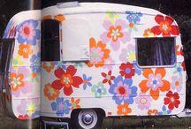 Happy camper / My next project - retro camper guest room :)