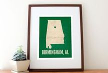 Birmingham, AL / All about this sweet home! To do, see, eat, drink, visit, explore, hike, and so much more!