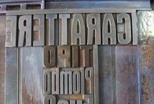 Works from La Vecchia Stamperia / Old Typography and Letterpress