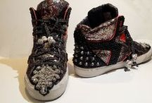Embellished Sneakers by EpicJennM / Embellished sneakers