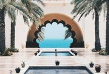 Dreamy Places / places where we'd like to spend some time, from beautiful interiors to exotic travel locations