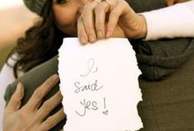 I Said Yes! Engagement Photo Ideas / Cute ideas for announcing your Engagement and planning your Engagement Session!