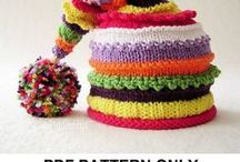 Knitting, Crocheting and Embroidery / Fiber Crafts -  How to knit, crochet, embroider, and other yarn craft. Paid and free patterns