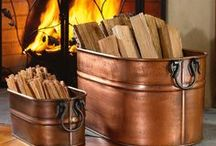 Wood Storage Ideas / Creative ways to organize and store logs for your Regency wood stove/fireplace/insert!