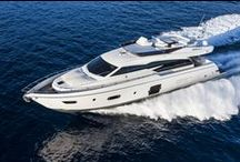 Ferretti Yachts 750 / Ferretti Yachts 750, a new sporty model characterised by a strong personality and a unique international appeal.