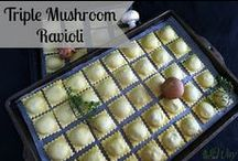 All Our Way Pasta Recipes / Delicious pasta dishes some featuring homemade pasta.