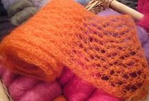 Mohair Madness / Knitting & Crocheting with Mohair & Mohair Blends