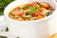 All Our Way - Soups for the Soul / Delicious soups to enjoy and savor.