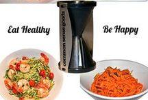 Spiral Slicer Recipes / Inspiring recipe ideas for the Common Sense Goods Spiral Slicer - Spiralizer