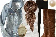 Nápady na outfit / Jak se vkusně obléknout, jak sladit jednotlivé kousky ......