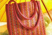 BAGS -knit&crochet