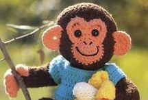 Crochet Toys - with Free Patterns / Crochet toys with free patterns