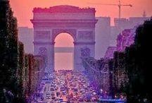 France, Paris / paysages , chateaux , jardins , rues - tous les