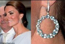 Earrings / Earrings worn by the Kate Middleton